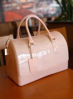 New 2014 fashion handbag Miss suki women's handbag candy bag jelly bucket handbag transparent bag silica gel bag rubber bag