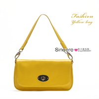 Candy color jelly bag shoulder bag handbag female bags