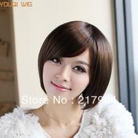 Wig stubbiness handsome female fluffy short wig fake short hair bobo wig