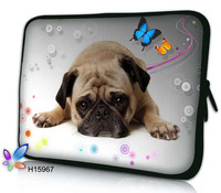 "Free shipping ! 14"" Cute Dog Soft Laptop Netbook Sleeve Case Bag Cover For 14.1"" 14.4"" hp"