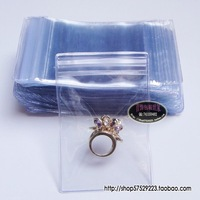 Free Shipping Wholesale 200pcs/lot 5x7cm Jewelry Bag, Clavicle Bag, Thickening Of The Transparent Bag