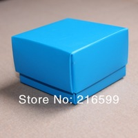100PCS 4 Colors 6.5x6.5x4cm Wedding Favor Boxes Candy gift boxes DIYJewelry Box free shipping