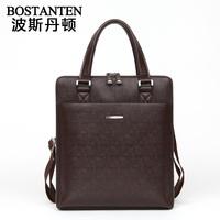 Cowhide man bag mercerizing net male bag handbag messenger commercial b10592