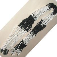 Football basketball net bag black and white nylon rope ball big net bag 15 basketball net bag