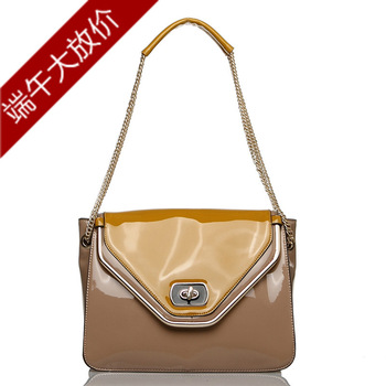 Spring and summer fashion  for oppo   female bags shiny one shoulder cross-body handbag 9531 - 1