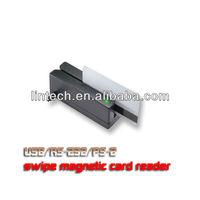 90mm 3 tracks USB magnetic stripe card reader