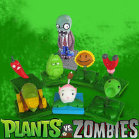 Gift plants vs . zoombies edition doll new arrival 9 dolls toy decoration gift box