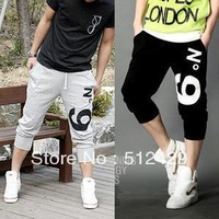 Fashion !!! 2013 Men's Sport Shorts Cool Rope Short Pants Casual Cotton M-XXL Free Shipping