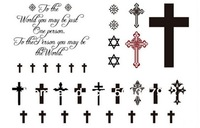 2013 new 12 desgins 240pcs Temporary tattoo stickers - for Body art Painting - mixed designs - Free Shipping