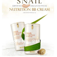 Free Shipping 2013 New Arrival Korean Snail Nutrition BB Cream SPF45 PA+++  3PCS/Lot