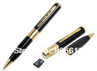 Wholesale 20pcs/lot mini pen camera, Video Record Camera Pen DVR Camera with voice recording AVI Format 720x480 High Resolution