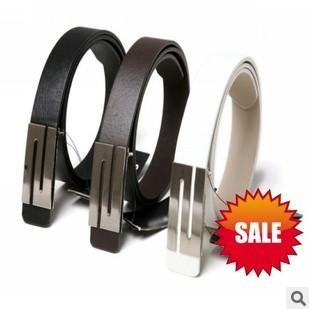 Free shipping hot sell high quality PU leather men`belts/fashion gentleman belt wholesale 1pcs/lot