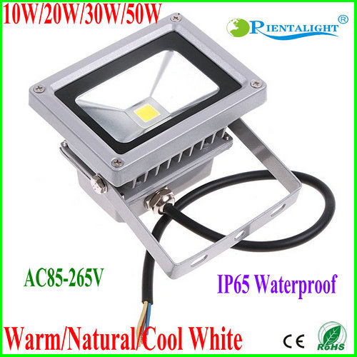 2PCS 10W LED Flood Light LED Waterproof For Outdoor Tree&Wall Wash Lamp IP65 Warm White natural White Cool White Floodlight LED(China (Mainland))