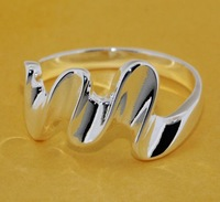 R201 Size:6,7,8,9 925 silver ring, 925 silver fashion jewelry ring fashion ring /ccpaktwatl