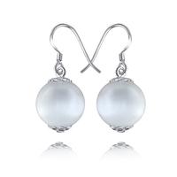 Free Shipping Lakka-trees 925 pure silver - eye drop earring earrings female small accessories personalized earrings