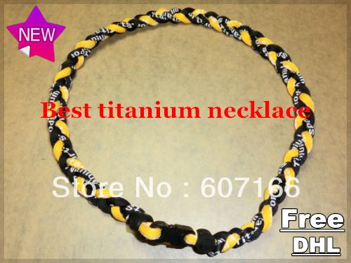 customized titanium sports necklace(China (Mainland))