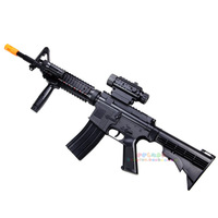 Teddy toy sniper gun m16 electric gun acoustooptical td-2011 infrared vibration 1.03