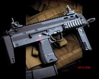 Mp7a1 submachinegun boy electric toy gun acoustooptical boxed machine gun electric music blazing vibration