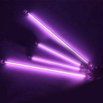 4 Piece Purple CCFL Under Car Auto Light Undercar Underbody Neon Kit Lights Free Shipping