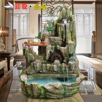 Feng shui wheel home decoration rockery transhipped fountain tank bonsai housewarming gift