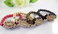 Swag bracelet good wood hiphop accessories hiphop wooden bead bracelet