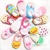Four seasons non-slip socks shoes sock slippers ankle sock cartoon 100% cotton baby infant socks free air mail