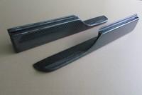 for Honda civic splitter front spoiler bumper lip 1 pair carbon fiber material