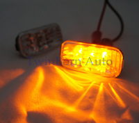 Free Shipping Car Lights For Honda 02-05 Civic EP3 02-06 Integra RSX DC5 Leds Side Marker Turn Signals Lamp Clear Amber H0003