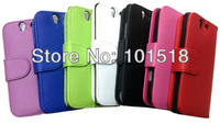 100PCS/LOT&Free Shipping New Leather Color Wallet Book Case Cover Pouch for Sony Xperia Z L36h C660X C6603 Yuga