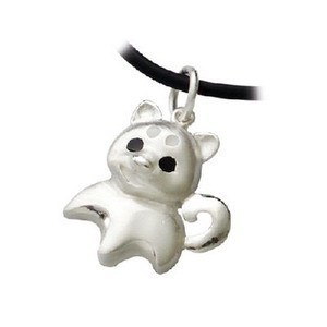 True love password dog small bavin 925 pure silver Women pendant handmade(China (Mainland))