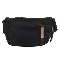 Winpard fashion waist pack bag small messenger bag outside sport waist pack small bag black