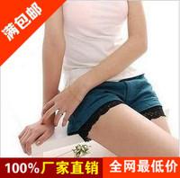 9132 summer cotton lace shorts skorts legging  free shipping