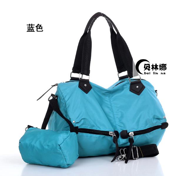 Yoga bag canvas bag 2013 women's handbag portable one shoulder cross-body casual sports fitness big bag(China (Mainland))