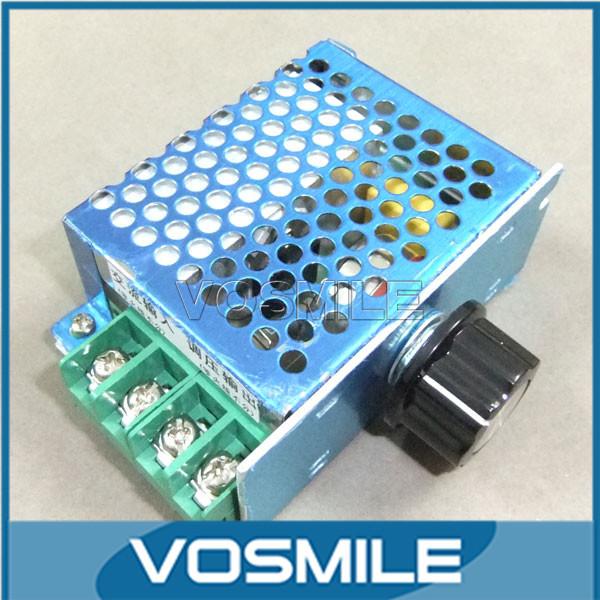 5pcs 4000W 220V Regulator Voltage SCR Speed Controller Electronic Voltage Regulator Governor Regulator thermostat Dimmer #MD0491(China (Mainland))