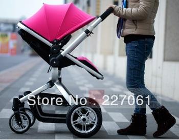 2014 Newest high-quality Gubi stokke xplory lightest baby stroller portable trolley four-wheel baby stroller folds can sit lie