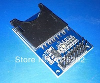 Free Shipping  Perfect SD Card Module Slot Socket Reader For Arduino ARM MCU Read And Write