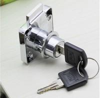 Free Shipping Furniture Hardware Drawer Cabinet Lock/Door Lock with 2 KEYS 10PCS/LOT
