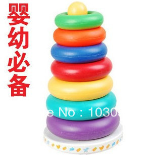 Baby toy colorful music ferrule budaoweng belt buttressed music function(China (Mainland))