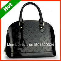2013 Hot Sale Leather Women Handbag Emboss Women Fashion Bags High Quality 3 color Choosing Free Shipping BB01