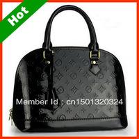2013 Hot Sale Leather Women Handbag Emboss Women Fashion Bags High Quality 3 color Choosing Free Shipping BB01