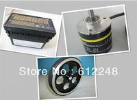 rotary encoder+HB965counter + meter wheel (600 pulses below)