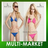 Free shipping/Holiday Sale 2013 Valtos Bikini Fashion Small Elegant Push Up Ladies Swimwear Beachwear