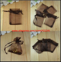 Fashion Exquisite Black Silk Bag Pouches, 9cm*12cm, Fit for Jewelry Earring,Necklace & Bracelet x200pcs Free Shipping
