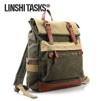 2013 Man bag canvas bag casual backpack vintage fashion bag backpack