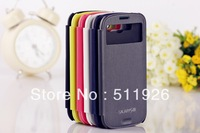 Leather Flip Case Cover for Samsung Galaxy S3 SIII i9300 free shipping