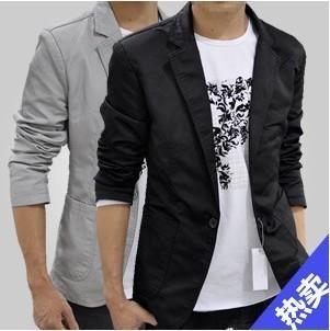 X9023 casual suit male slim blazer coat fashion commercial suit male outerwear p85