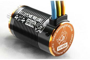 Skyrc Toro 4 Ppole  BL  Motor ,1/10 Short Course car motor ,Brushless motor