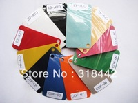 0.5*25meter  Flocking Heat Transfer Vinyl For Plotter Transfer in 12 Colors