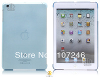 10pcs/lot New Product Novelty Cute Back Case Hard Cover Clear Housing For iPad Mini Tablet, 6 colors, Free Shipping