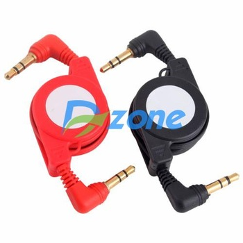 3.5mm Audio Extension Male to Male Retractable Cable [5972|01|01]
